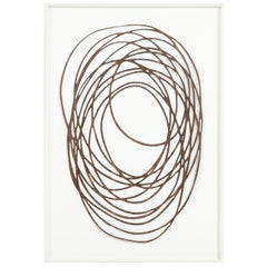Neal Perbix, Limited Edition Walnut Veneer Drawing, Fine Art Painting