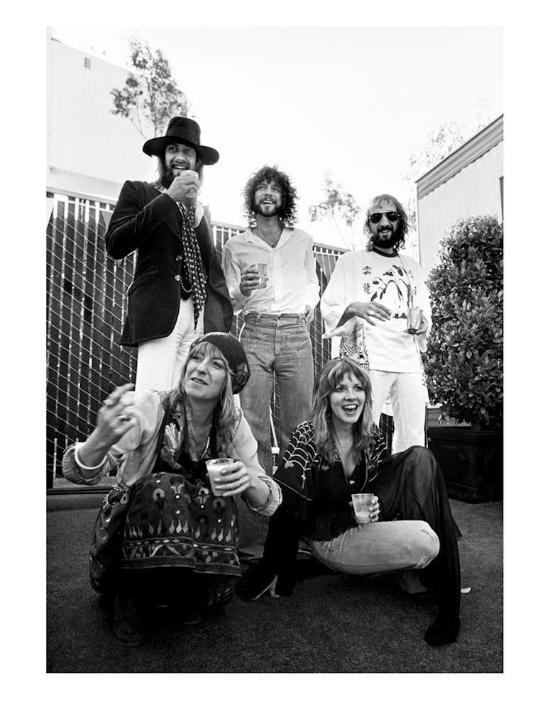 Neal Preston Black and White Photograph - Fleetwood Mac