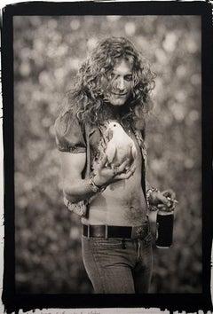 "Robert Plant ""Dove""-Platinum Photograph"