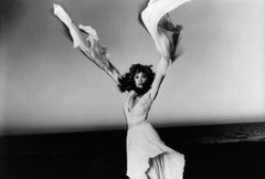 Stevie Nicks Posing with Arms Outstretched Vintage Original Photograph