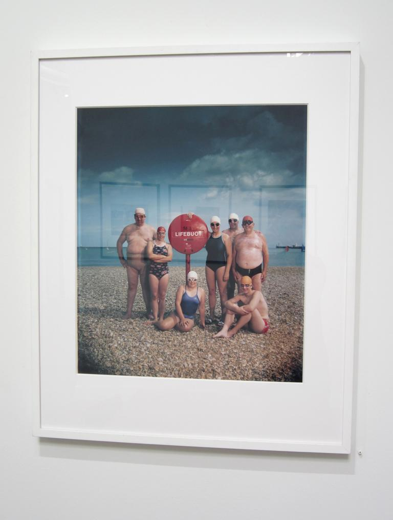 Channel Swimmers, July 15, 1984 - Contemporary Photograph by Neal Slavin
