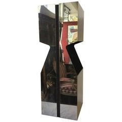 Neal Small for Kovacs Chrome Pedestal Lamp