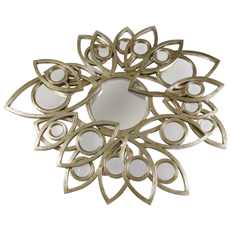 Neapoli Mirror with Silver Finish