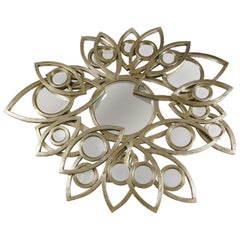 Neapoli Mirror with Silver Finish