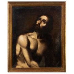 "Neapolitan School 17th Century "" Ecce Homo """