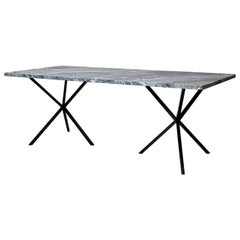 Scandinavian Contemporary Dining Table in Italian Granite made in Sweden