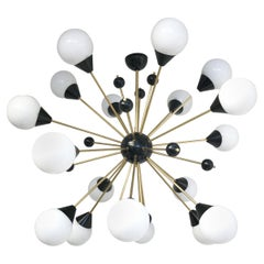 Nebula Sputnik Chandelier by Fabio Ltd