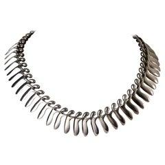 Necklace Designed by Bent Gabrielsen for Georg Jensen, Denmark, 1960s
