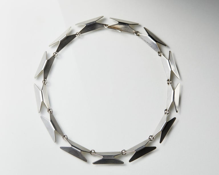 Modern Necklace Designed by Bent Knudsen, Denmark, 1960s For Sale
