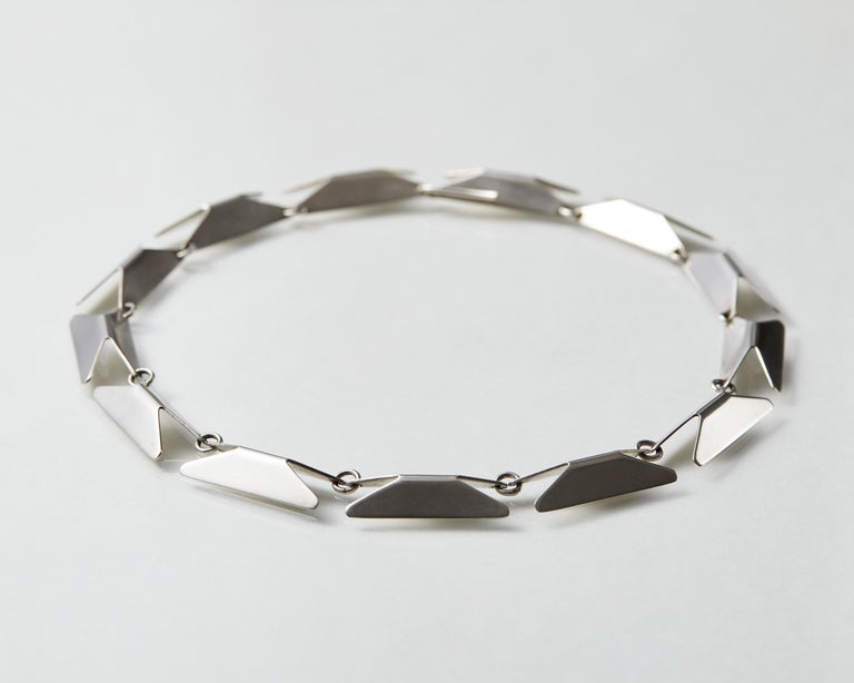 Necklace Designed by Bent Knudsen, Denmark, 1960s In Good Condition For Sale In Stockholm, GB