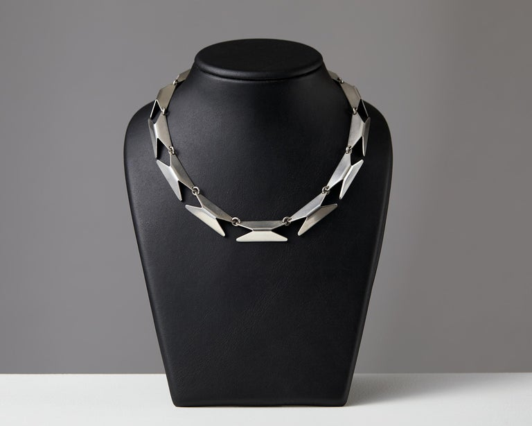 Necklace Designed by Bent Knudsen, Denmark, 1960s For Sale 2