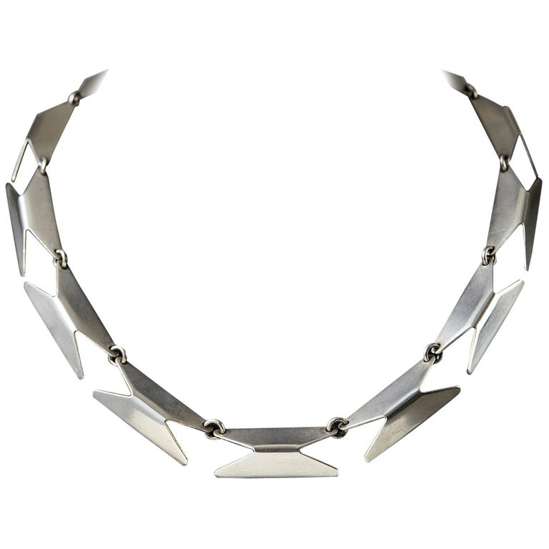 Necklace Designed by Bent Knudsen, Denmark, 1960s For Sale