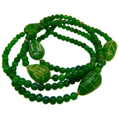 Necklace, Emerald, Gold, Colombia