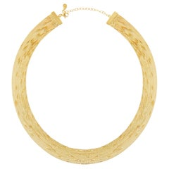 Necklace Minimal Box Chain Shiny 18 Karat Gold-Plated Silver Greek