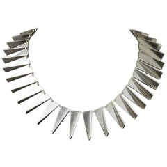 Necklace Number 132 Designed by Arno Malinowski for Georg Jensen, Denmark, 1960s
