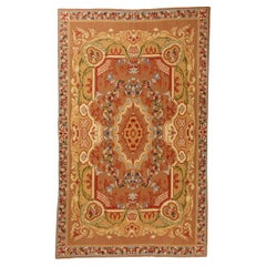 Needle Point Carpet or Tapestry in Aubusson Style