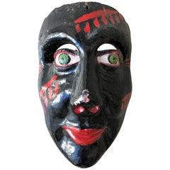 Negro Costeño Carnaval Mask, Costa Chica, Guerrero Mexico