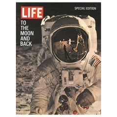 Neil Armstrong Signed Copy of Life Magazine, 1960s / 1970s