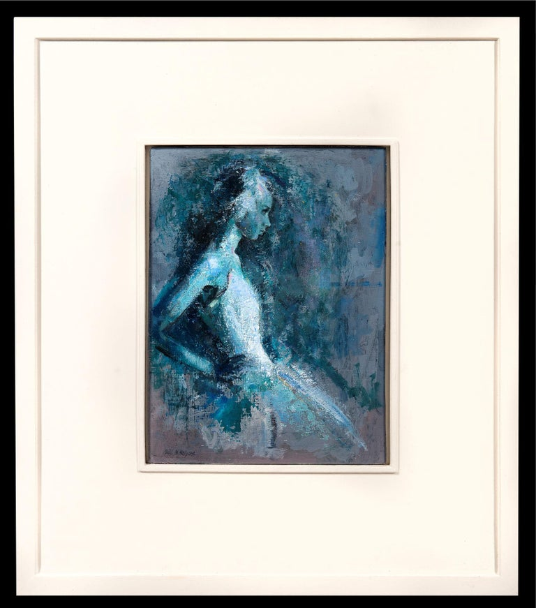 Poise - Painting by Neil B Helyard