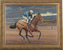 "The Racehorse ""Red Rum"" with Jockey-up training"