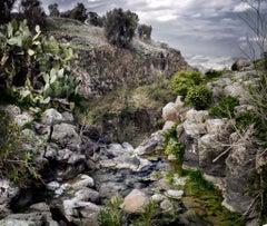 Neil Folberg. Nahal El-Al, 2013, (Israel, Landscape series)