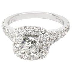 Neil Lane Diamond Diamond Ring in 14 Karat White Gold I I1 '2 1/6 Carat'