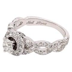 Neil Lane Diamond Engagement Ring For Sale At 1stdibs