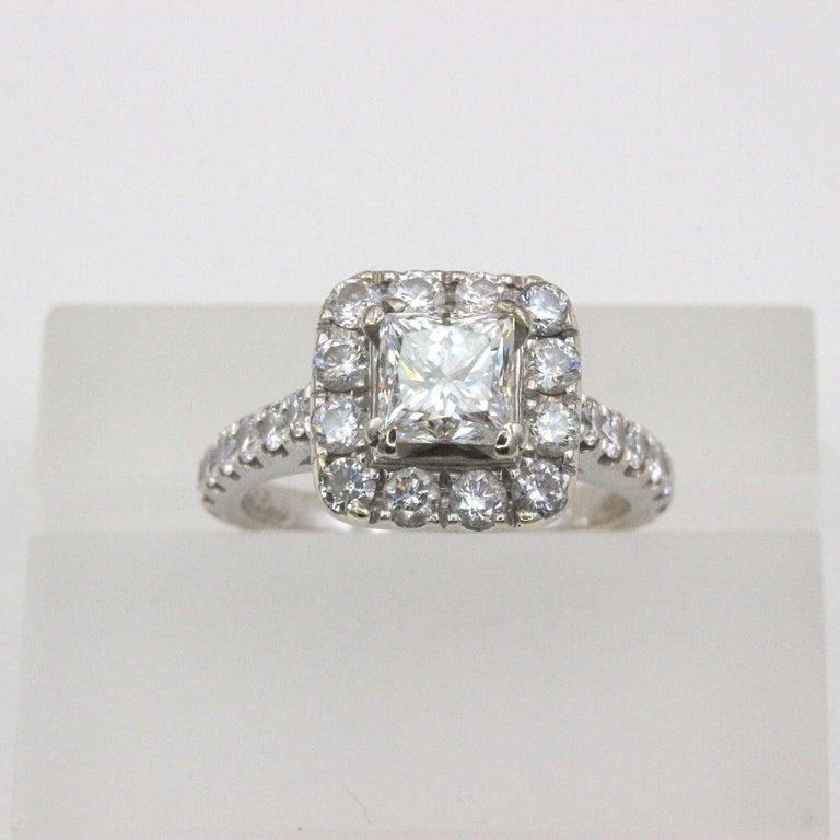 Neil Lane Princess Cut Enement Rings   Neil Lane Diamond Engagement Ring Princess 2 00 Tcw In 14 Karat