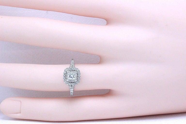 Neil Lane Princess Cut Diamond Engagement Ring 1.00 Carat ...