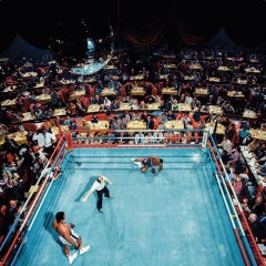 'Ali vs. Foster, 1972', Color Photographic Print, Dye Sublimation on Aluminum.