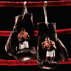 'Ali vs. Liston II, 1965', Color Photographic Print, Dye Sublimation on Aluminum