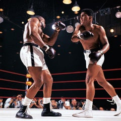 'Clay vs. Liston I, 1964' Color Photographic Print, Dye Sublimation on Aluminum.