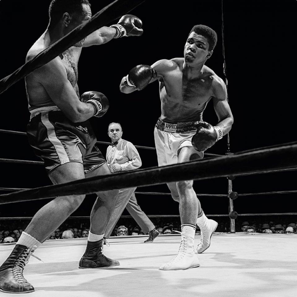 Muhammad Ali vs. Folley, 1967 Photographic print, Dye Sublimation on Aluminum