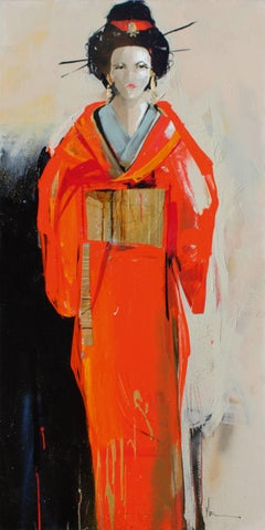 Neil Nagy - Red Kimono