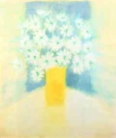 'Yellow Vase and Flowers' by Neil Shawcross RHA RUA