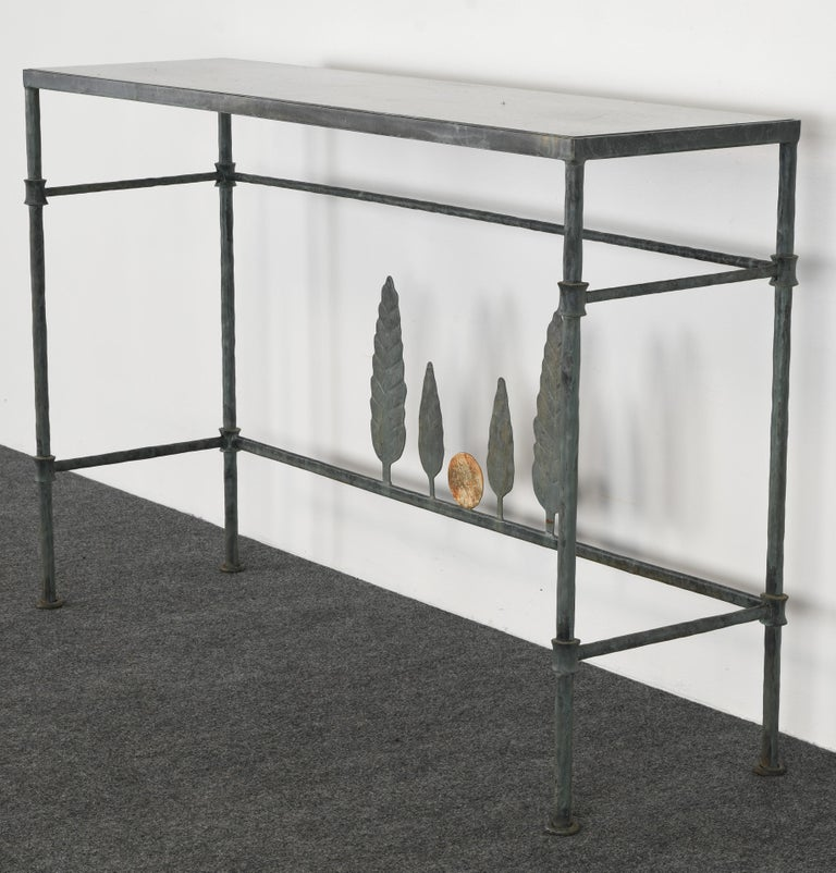 Neirmann Weeks Giacometti Tree Console Table, 1980s For Sale 3
