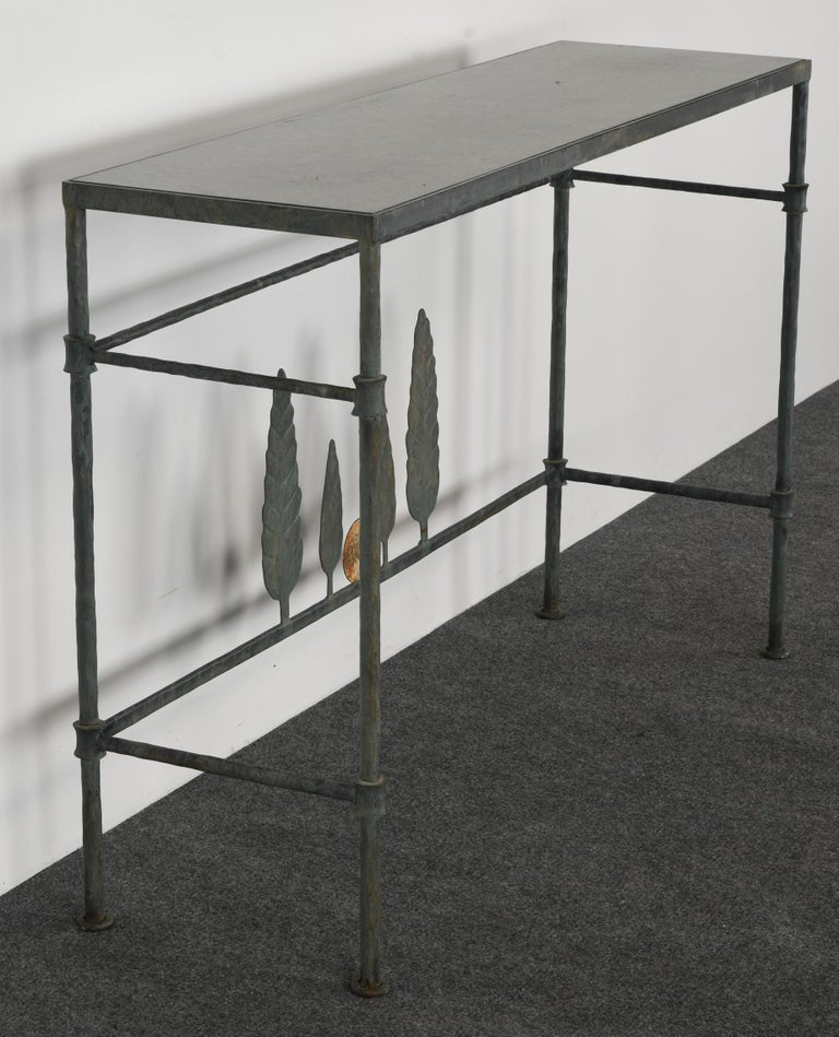 Neirmann Weeks Giacometti Tree Console Table, 1980s For Sale 4