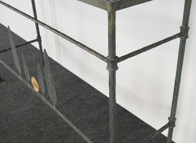 Neirmann Weeks Giacometti Tree Console Table, 1980s For Sale 1