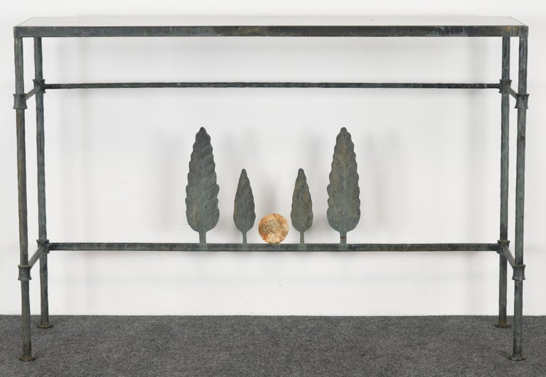 Neirmann Weeks Giacometti Tree Console Table, 1980s For Sale 2