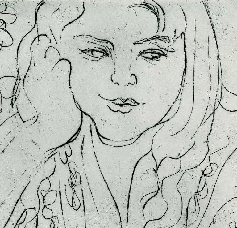 Daureen, II - Print by Nell Blaine