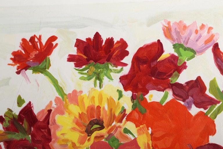 Jestina's Reds - Print by Nell Blaine