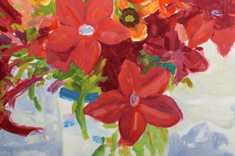 Jestina's Reds - Impressionist Print by Nell Blaine
