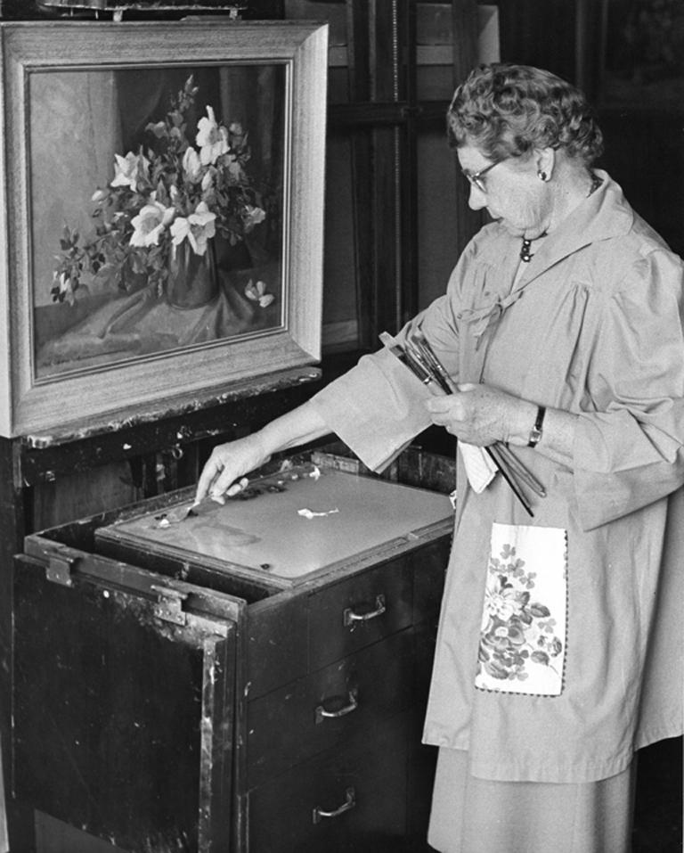'Cape Ann Harbor', Woman Artist, Massachusetts, Rockport, Gloucester, LACMA For Sale 5