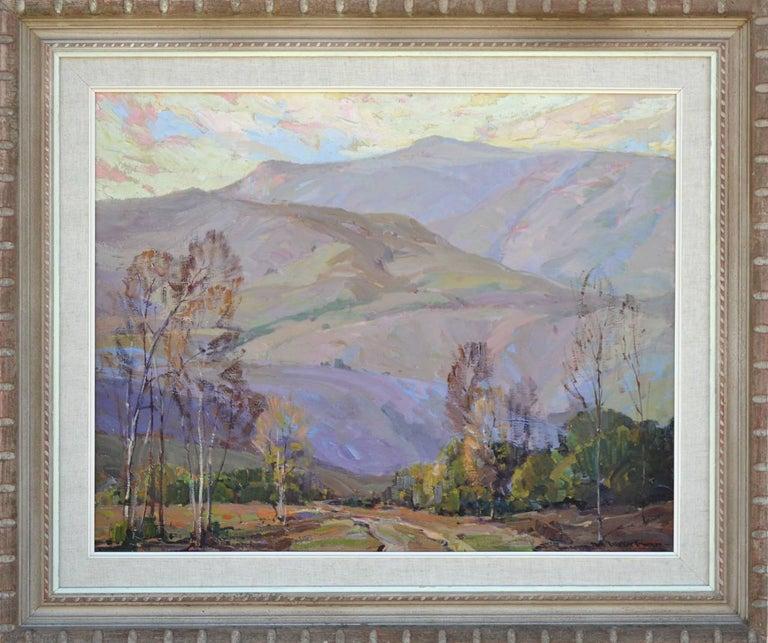 Nell Walker Warner Landscape Painting - Mid Century Santa Paula Mountains