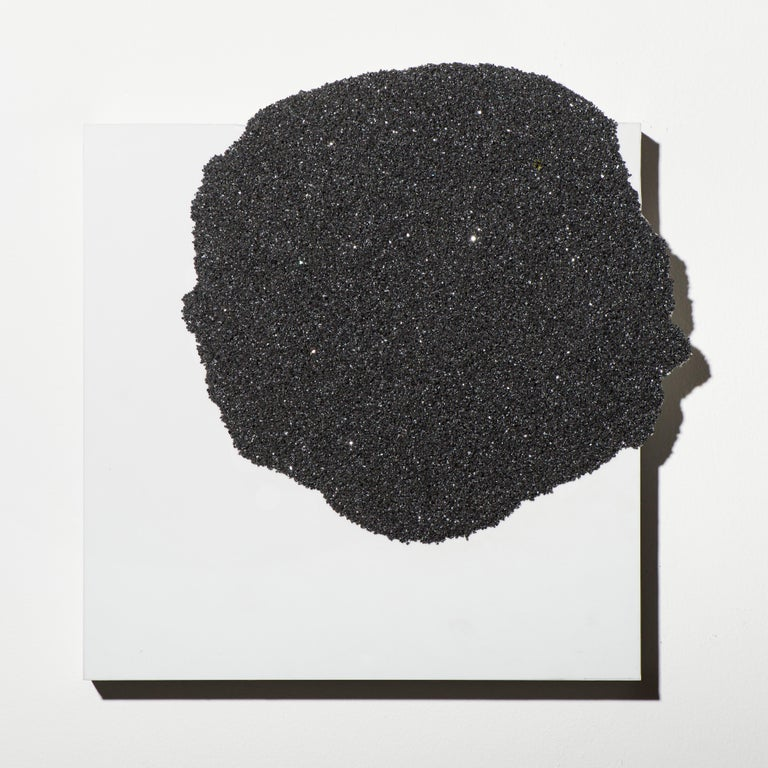 Untitled (Black) - Painting by Nellie King Solomon