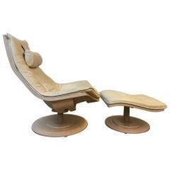 "Nelo ""Flight High"" Swedish Chair and Ottoman Designed by Takashi Okamura"