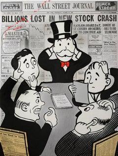 Nelson de La Nuez, Board Room Panic (Billions)