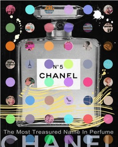 Nelson De La Nuez, Chanel #5: Black Gray Bottle