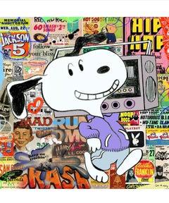 Snoop Dog, Mixed Media