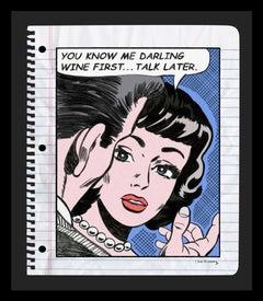 Wine First Unique Sketch